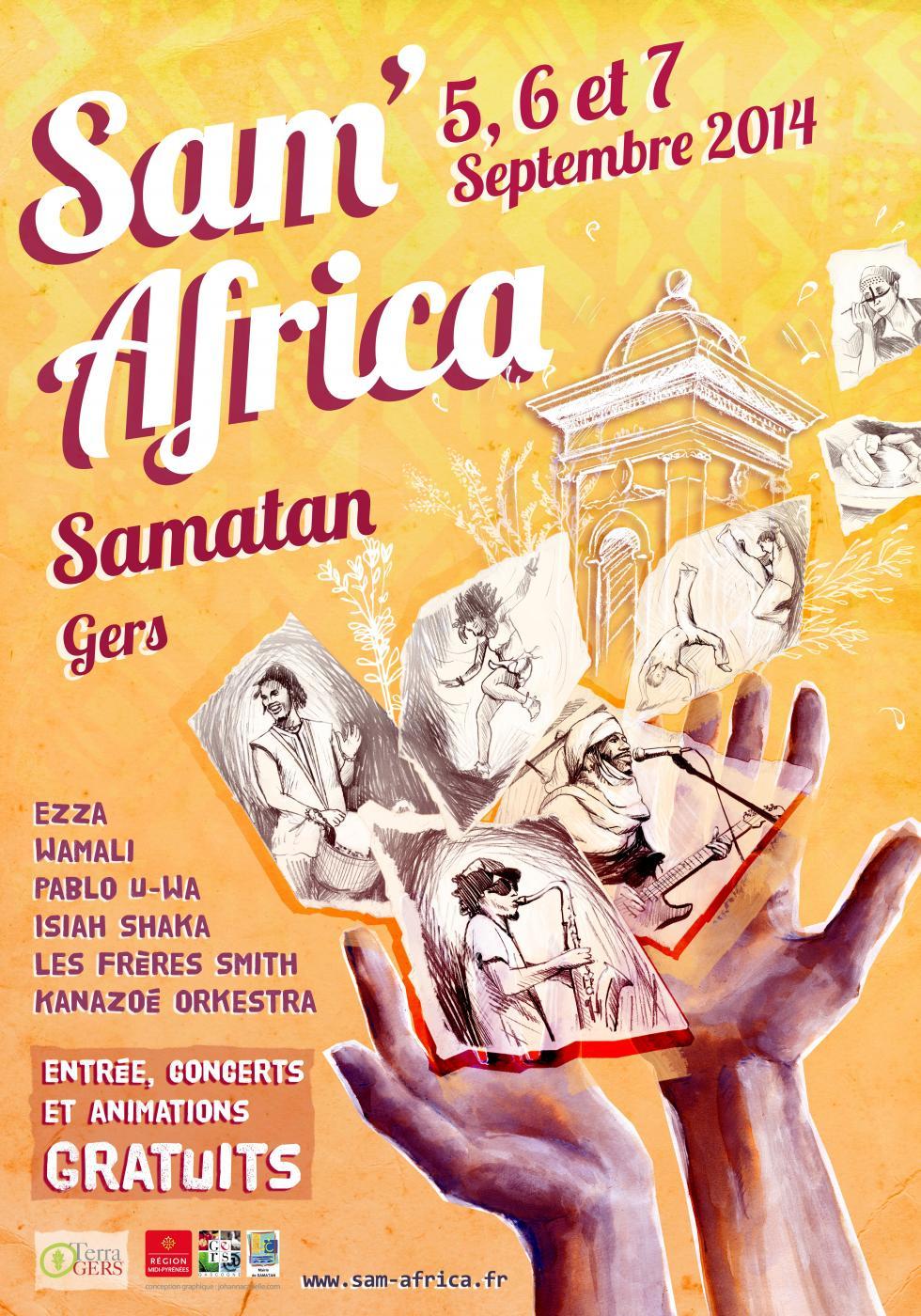 Kanazoe Orkestra Sam'Africa 2014