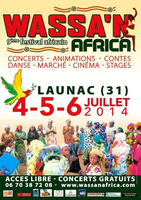 Kanazoe Orkestra Wass'n'Africa 2014